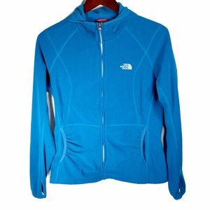 The North Face Women's Hooded Fleece Blue Large